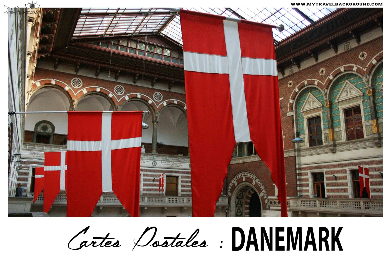 My Travel Background : carte postale du Danemark