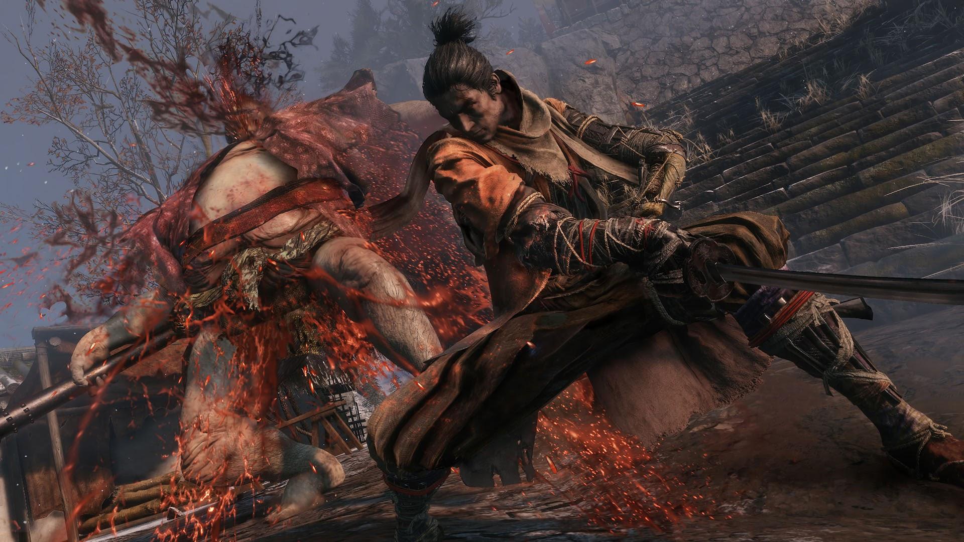 Sekiro Shadows Die Twice Fighting 4k Wallpaper 33
