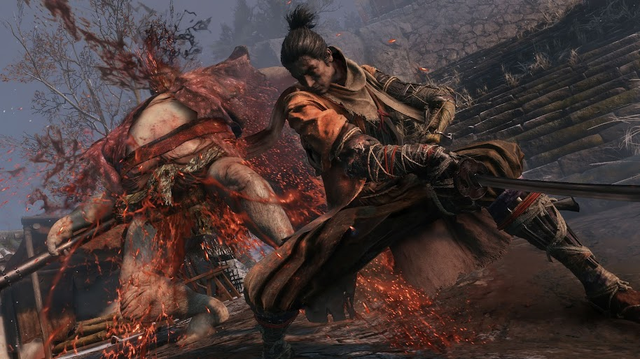 Sekiro Shadows Die Twice Fighting 4k 33 Wallpaper