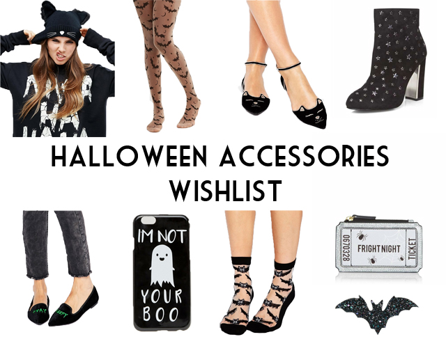 Halloween 2016 accessories shoes socks