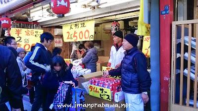 Pedagang Di Kuil Asakusa
