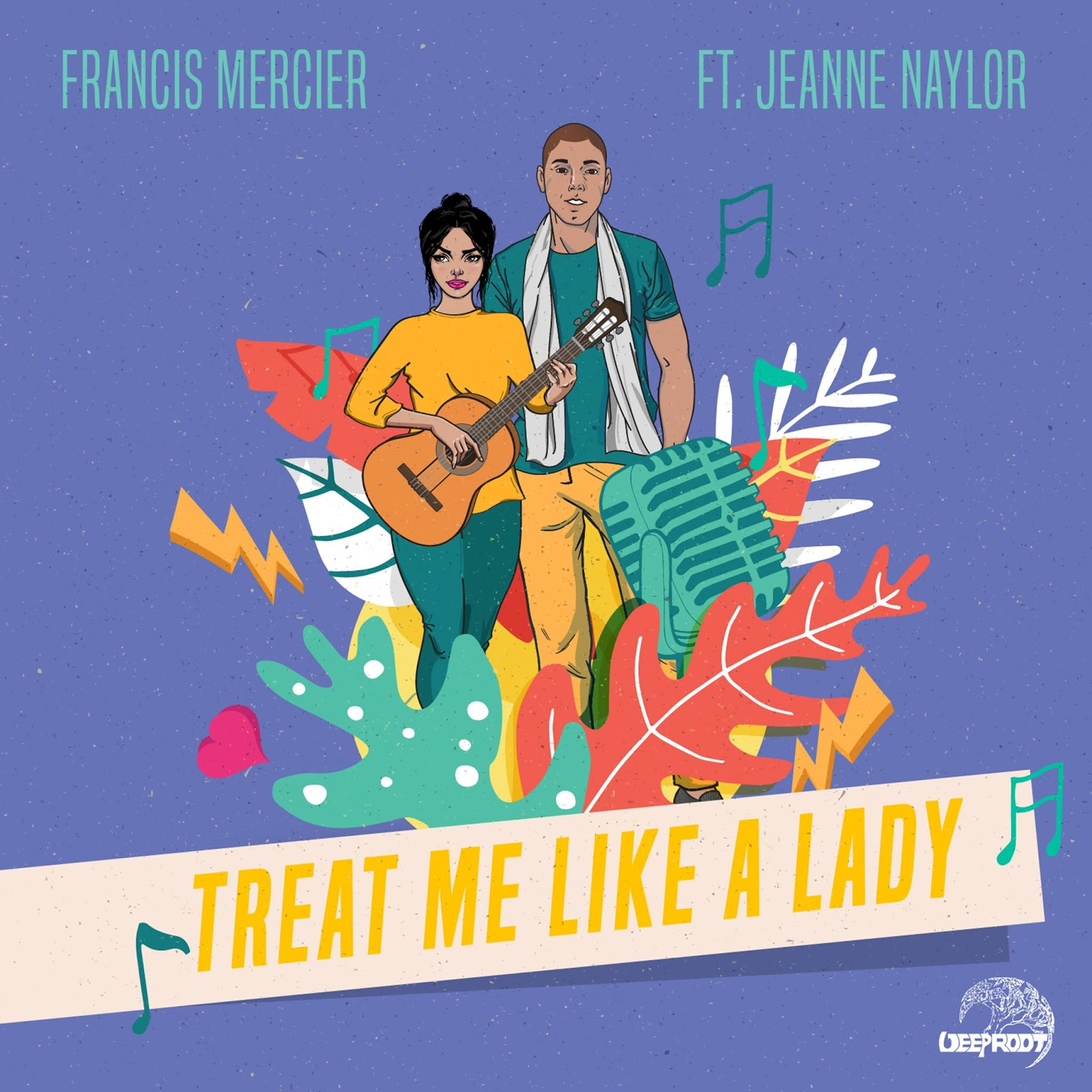 Francis Mercier mit Treat Me Like A Lady | Der Song of the Day im Stream und als Free Download