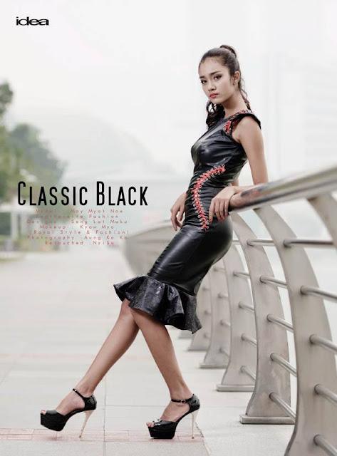 classic black fashion may myat noe