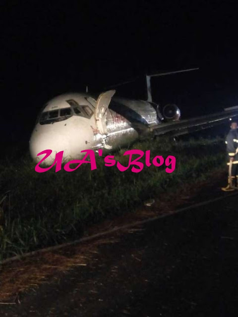 Dana explains why plane overshot runway in Port Harcourt