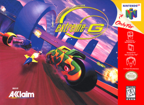 Extreme G-cover game/ best game n64