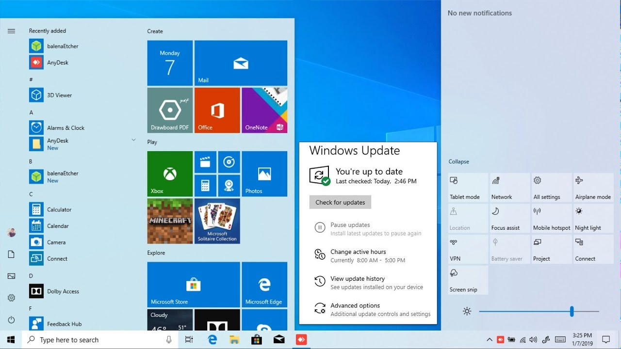 Windows 10 AIO 19H1 32 64 Bit Feb 2019 Free Download Latest