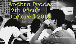 Andhra Pradesh 12th Board Exam Result Declared On 12 April 2018