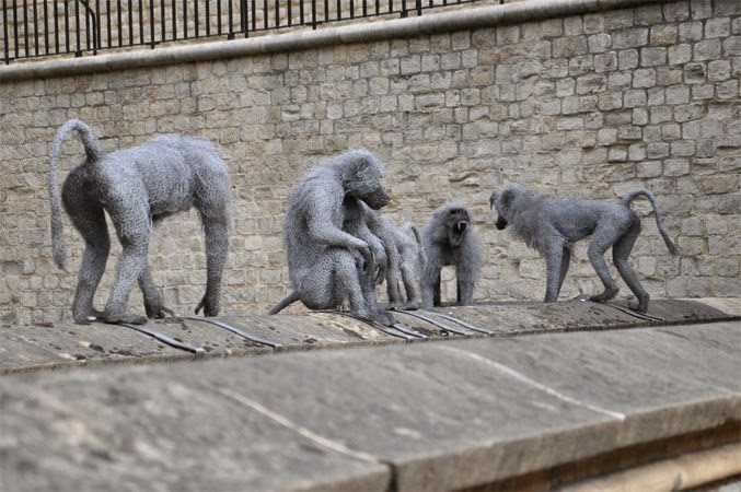 25-Baboons-2-Kendra-Haste-Galvanised-Wire-Animal-Sculptures-www-designstack-co