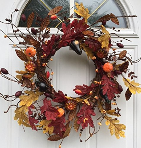 Carnival of Autumn Wreath