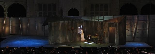 Jenufa at Opera Holland Park, 2007, directed by Olivia Fuchs, designed by Yannis Thavoris - photo Yannis Thavoris
