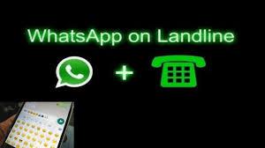 Create whatsapp account from landline number
