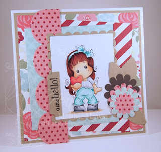 Heather's Hobbie Haven - Christmas Heart Tilda Card Kit