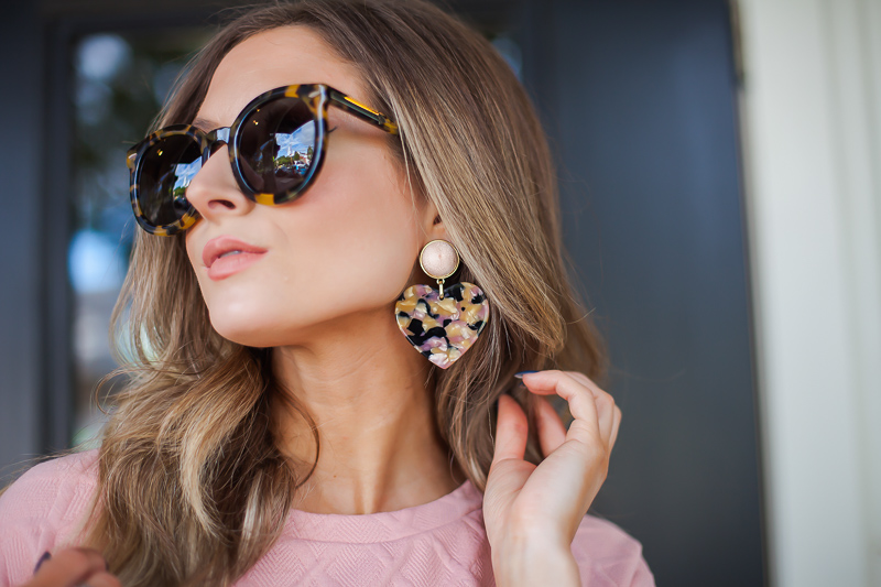 baublebar gigi resin drop earrings