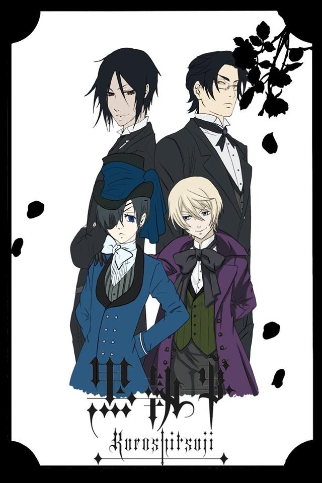 cover anime Kuroshitsuji II