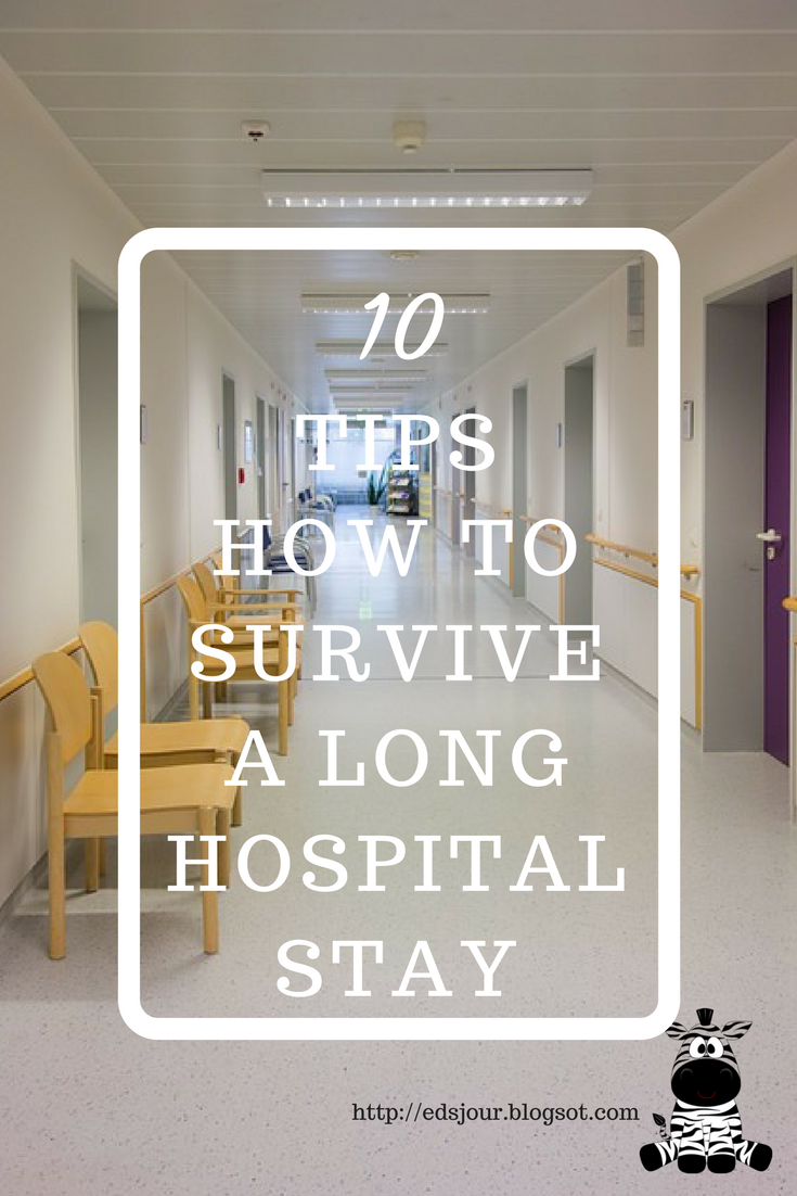 10 Kitchen And Home Decor Items Every 20 Something Needs: MY EDS JOURNEY: 10 Tips To Surviving A Long Hospital Stay