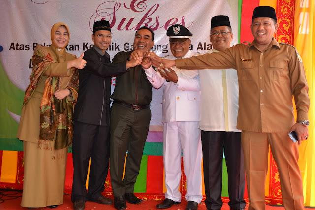 Selamat, Suid AB Dilantik sebagai Keuchik Kuta Alam