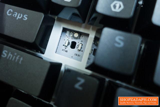 optical keyboard switch