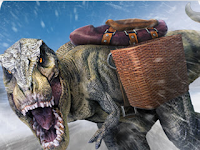 Extreme Dino Rex Snow Cargo v1.1 Mod Apk (Unlimited Money) Terbaru 2017