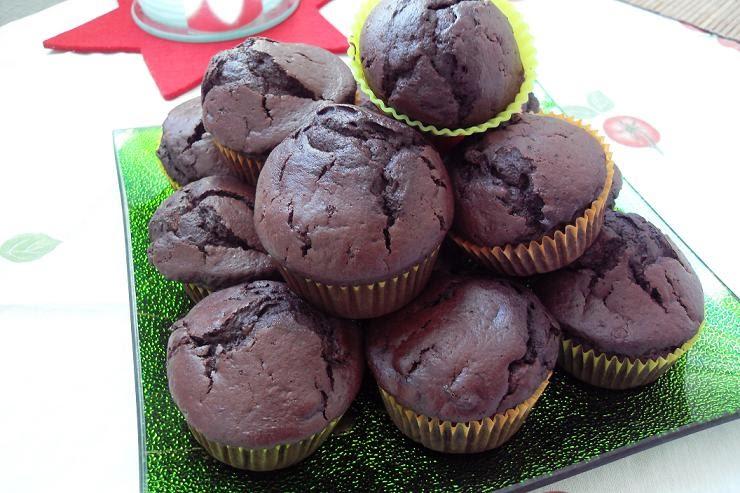 lebenswert schoko zimt muffins. Black Bedroom Furniture Sets. Home Design Ideas
