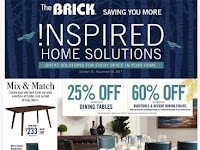 The Brick Ontario Flyer October 31 - November 24, 2017