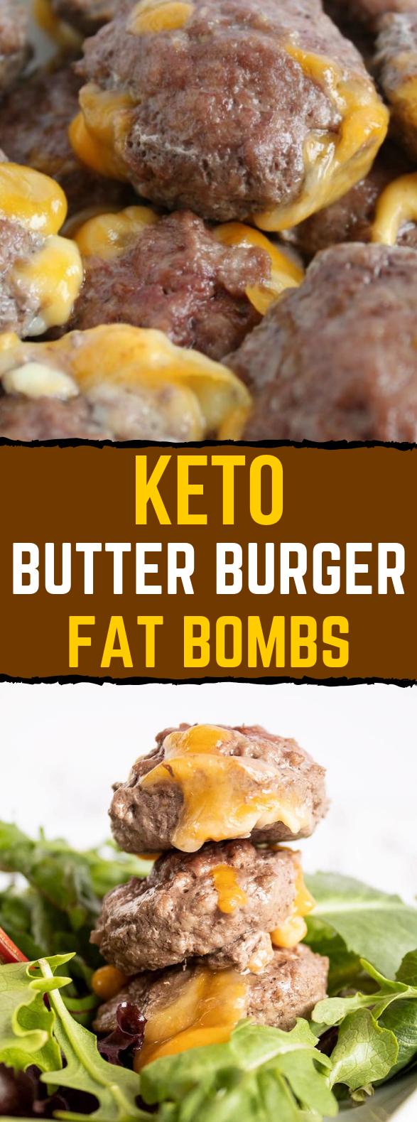 Keto Butter Burgers (Savory Fat Bomb) #ketogenicrecipe #zerocarb