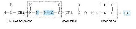 Pengertian Reaksi Polimerisasi Kondensasi