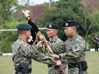 Alih Tongkat Komando Danyonif Raider 323/BP Kostrad