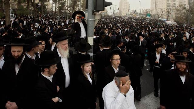 Cientos de judíos protestan ante la ONU contra Netanyahu