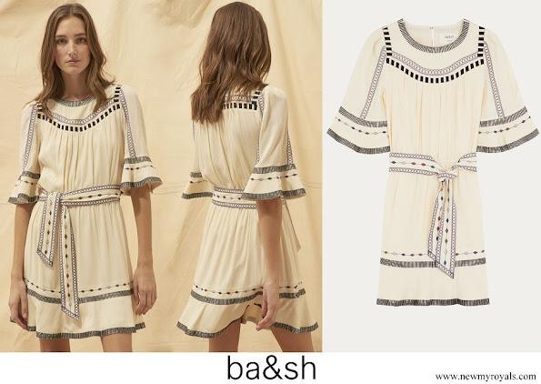 Princess Marie wore ba-sh plaza dress