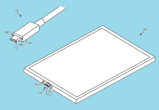 مايكروسوفت تقدم براءات إختراع لنظام USB-C المغناطيسي