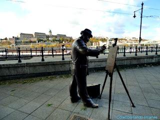 Escultura de pintor Budapest