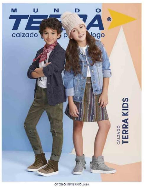 Calzado Mundo Terra kids OI 2018