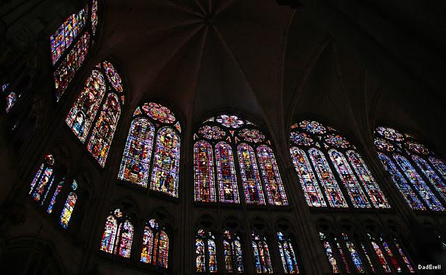 Vitraux du choeur de la Cathédrale de Troyes