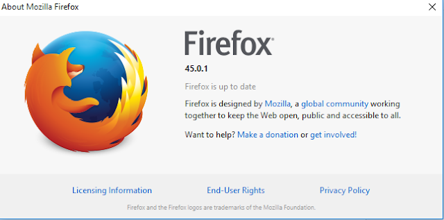 Download Mozilla Firefox 45.0.1 Offline Installer 2016