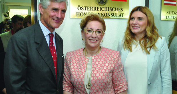 Austrian Consulate Reopens after 164 years in Bitola