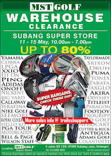 MST Golf Warehouse Clearance Sales2016