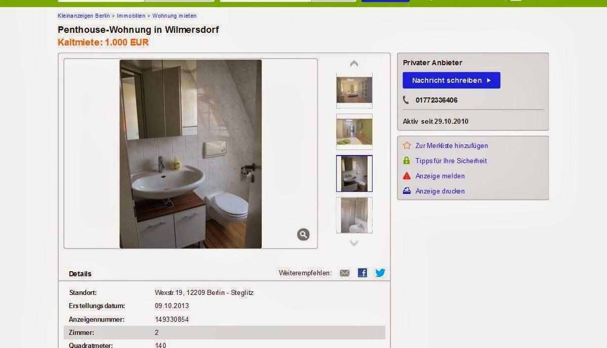 Ebay Kleinanzeigen Berlin Wohnung