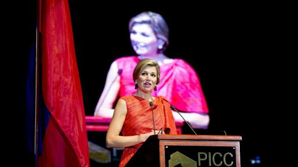 Queen Maxima of the Netherlands attended meeting of the Philippines' National Strategy for Financial Inclusion (NSFI)