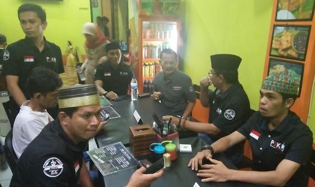 Persatuan Penikmat Kopi Luwu Utara Bukber di Palopo