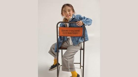 Model Cilik Lee Eun Chae Gunakan Kursi Asal Wonogiri