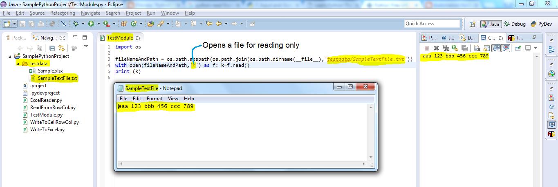 cstdiofile write append python