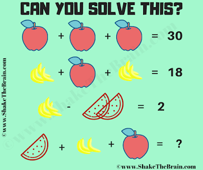 This is the math Equation Puzzle in which your challenge is to solve the simultaneous equations