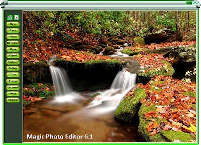 Free online photo frames editor