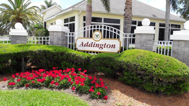 Entrance To Addington, Viera, FL