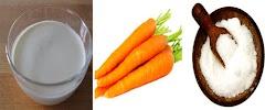 Cara mengobati cacingan pada anak dengan menggunakan wortel dan campuran santan dan juga garam