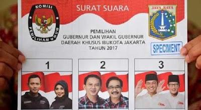 Ini Hasil Akhir Quick Count Pilkada DKI Jakarta dari 5 Lembaga Survei