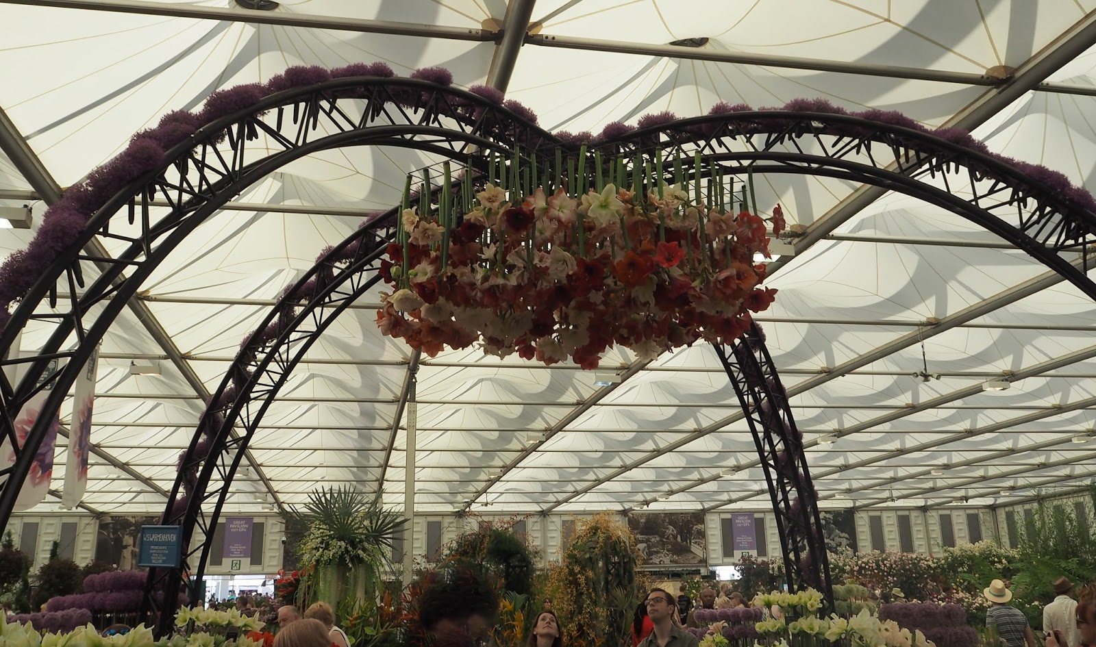 Chelsea Flower Show, floral pavillion