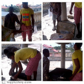 girl turned into snake benin republic