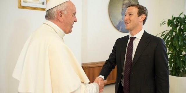 Đức Giáo Hoàng Phanxicô tiếp kiến ông Mark Zuckerberg, người sáng tạo Facebook