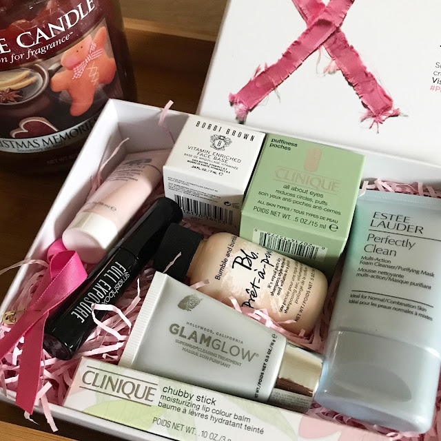 The Breast Cancer Awereness Beauty Box Estee Lauder